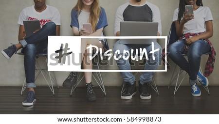 Sale Discount Voucher Shopping Word