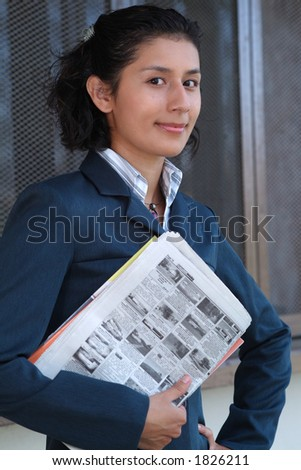 sales agent - stock photo