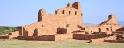 Salinas Pueblo Missions National Monument in New Mexico, USA, Abó mission