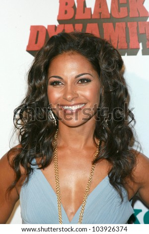 Salli Richardson-Whitfield at the Los Angeles Premiere of 'Black Dynamite'. Arclight Hollywood, Hollywood, CA. 10-13-09
