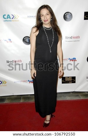 Salli Saffioti  at the 2008 Donkaphant Film Festival, Skirball Cultural Center, Los Angeles, CA. 10-29-08