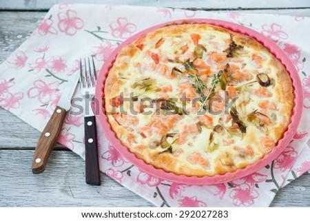 salmon pie #292027283