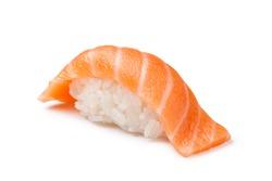 Salmon sushi on a White background