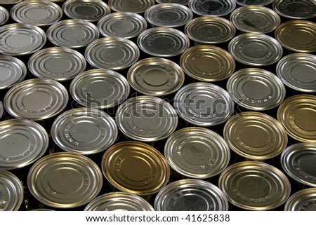 Salmon tin background abstract