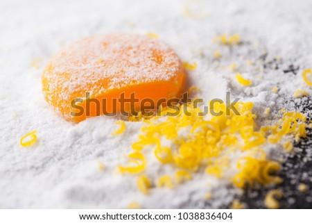 Salt Cured Egg Yolk