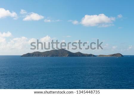 Salt Island and Cooper Island, British Virgin Islands #1345448735