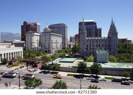 Salt Lake city, Utah (downtown) #82751380