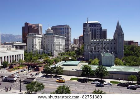 Salt Lake city, Utah (downtown) #82751380