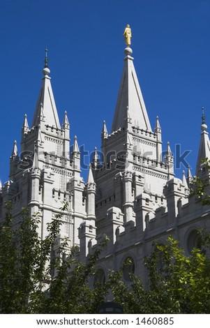Salt Lake City Utah Mormon Church of Jesus Christ of Latter-day Saints temple