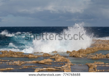Salt Pans, Xwejni Bay, Xwejni, Gozo Island, Malta, Europe