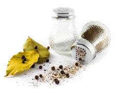 Salt, pepper, bay leaf