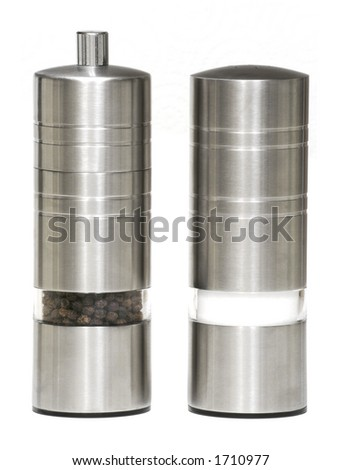 Salt & Pepper Shakers - Isolated