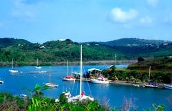 Salt River Bay, Salt River Marina, Landing site of Columbus, St Croix, USVI