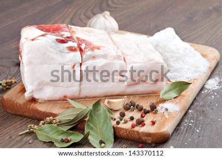 salting wooden cutting board 1