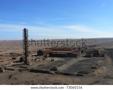 Saltpetre factory humberstone, chile