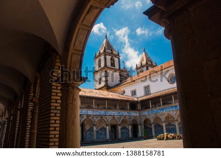 Salvador, Bahia, Brazil: The Church of San Francisco is located on the square of Pras Anchieta in the city center Salvador da Bahia