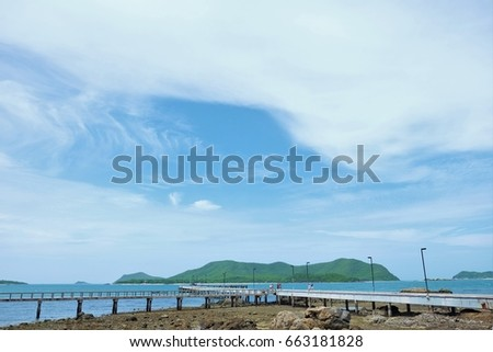 Samae-San Island is a small island in Sattahip District  Chonburi Province of Thailand