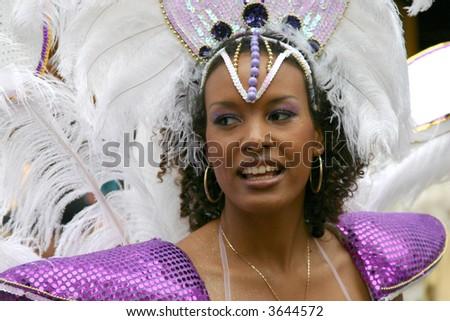 Samba carnival procession in Copenhagen