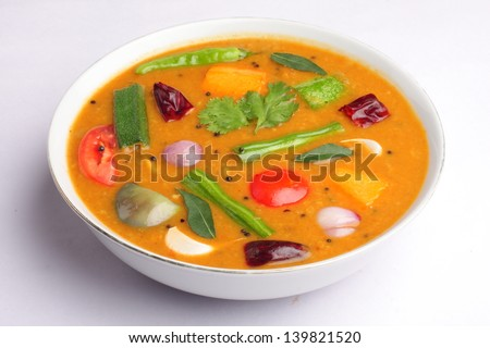 Sambar a south indian dish