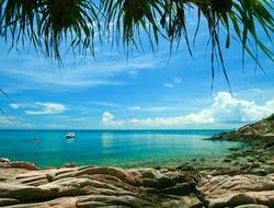 Samed Island at Rayong Thailand