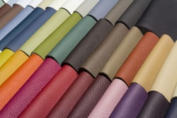 sample - a good quality leather in various colors
