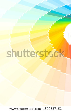 sample colors catalogue pantone or colour swatches book