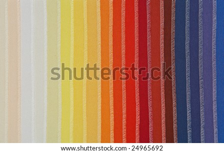 Samples of fabric