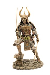 Samurai figurine