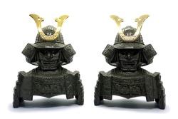 Samurai sculpture (Japanese doll)