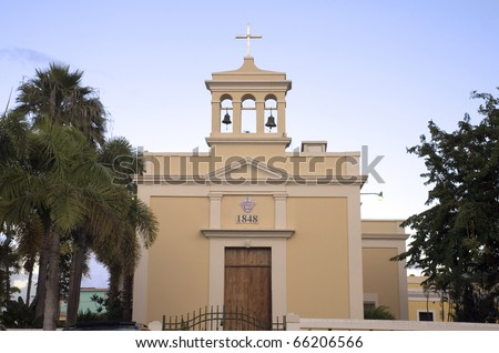 "San Antonio de Padua "" Saint Anthony"" Catholic Church in Dorado, Puerto Rico."