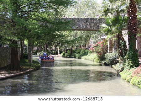 San Antonio Riverwalk in Texas