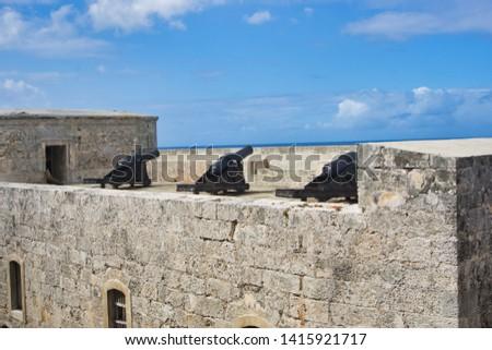 San Carlos Fortress, La Cabana in Havana, Cuba #1415921717