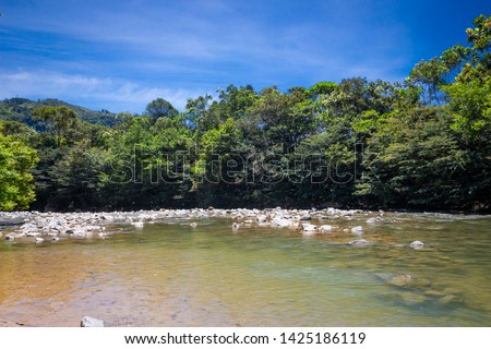 San Carlos is a municipality of antioquia, located in the Oriente subregion beautiful ravine means a narrow passage between mountains that forms a kind of lake #1425186119