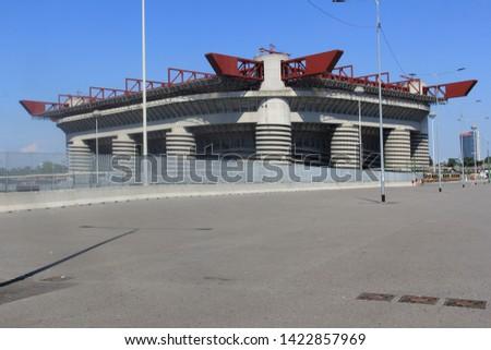 San Ciro Football Stadium, Milan, Northen Italy, Europe #1422857969