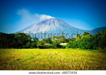 San Cristobal Volcano Located in Nicaragua