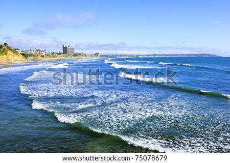 San Diego Beach View (Pacific Ocean)