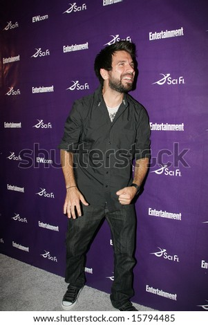 SAN DIEGO, CA - July 26: Actor Joshua Gomez attends the annual Comic Con International SciFi Channel party hosted by Entertainment Weekly on July 26, 2008 in San Diego, CA.