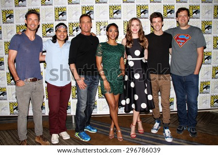SAN DIEGO, CA - JULY 11: The cast of \