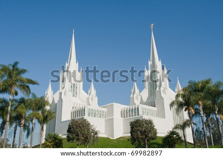 San Diego California Temple (LDS church) in San Diego, California