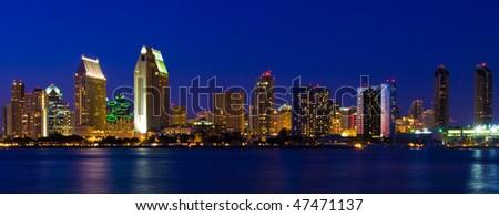 San Diego Downtown, Harbor, Coronado Bay View from Coronado.