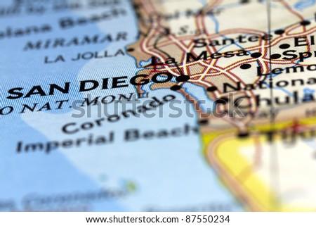San Diego in California, USA