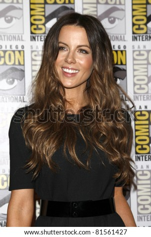 SAN DIEGO - JUL 22:  Kate Beckinsale at the 2011 Comic-Con Convention - Day 2 at San Diego Convention Center on July 22, 2010 in San DIego, CA.