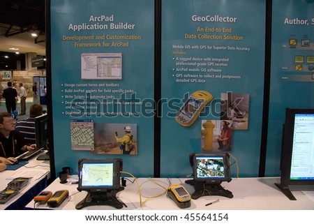 SAN DIEGO - JUNE 18:  ESRI international user conference held annually is the biggest GIS conference worldwide.  June 18, 2007 in San Deigo California