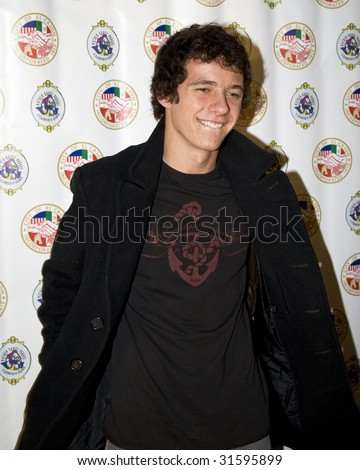 SAN DIEGO - NOVEMBER 22: Matthew Underwood attends the 3rd annual Evening with the Stars prior to the 62nd  annual Mother Goose Parade. November 22, 2008 in San Diego, CA