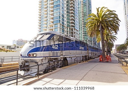 san diego  usa   june 11  train ...