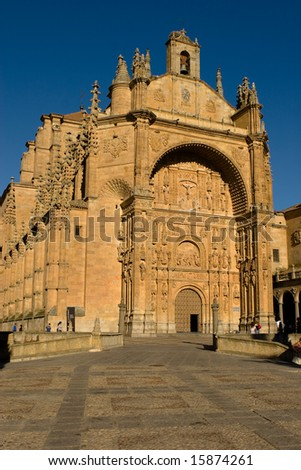 San Esteban Church in Salamanca
