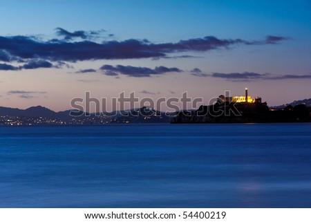San Francisco, Alcatraz and sausalito as seen from Pier 39