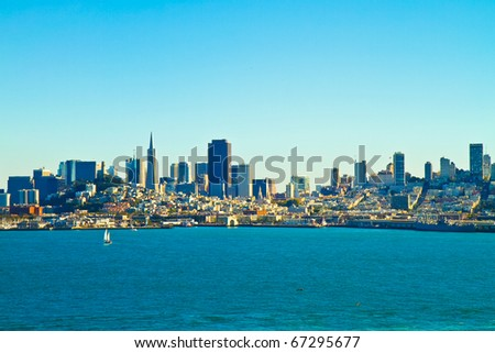 San Francisco bay and harbor.