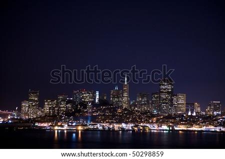 San Francisco Cityscape from Alcatraz