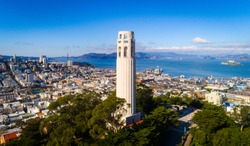 San Francisco Coit Tower during the day